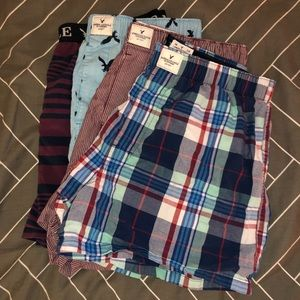 American Eagle Boxers (4 pack) - Size M